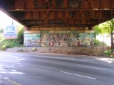 mural on Forbes Ave. below the overpass