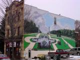 picture of highland park mural